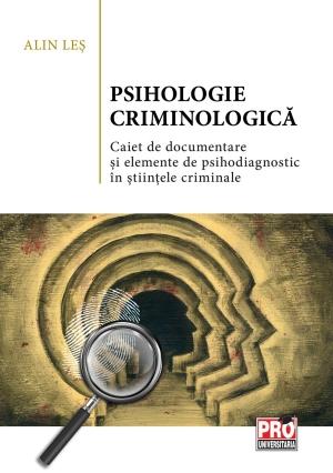 Alin Les - Psihologie criminologica  ACAD