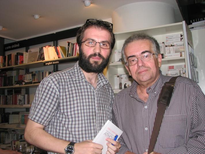Cu istoricul și criticul literar, Dan C. MIHĂILESCU