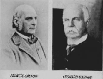 l. darwin - f. galton