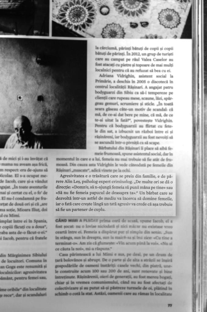 Alin Les, psiholog expert criminolog, interviu 2014, Esquire 2