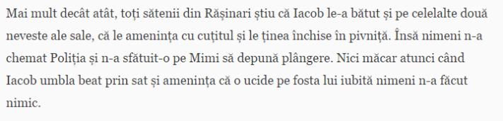 Bursa Teleleu 2014, violenta domestica