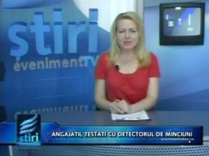 POLIGRAF STIRE TV EVENIMENT, ALIN LES, LABORATOR TESTARI POLIGRAF 2014