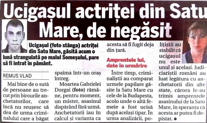 Alin Les, psiholog, expert criminolog, crima sexuala Satu Mare, www.alinlesub.wordpress.com