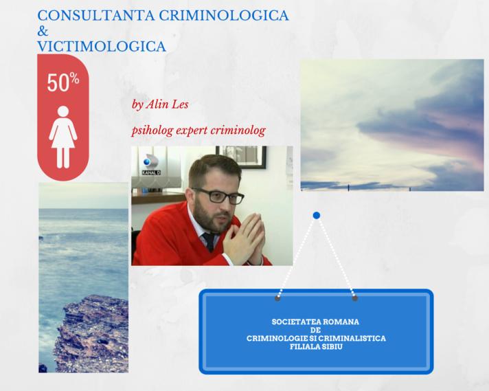 Alin Les, consultanta criminologica si victimologica, www.poligraf-evaluarepsihologica.ro, Sibiu