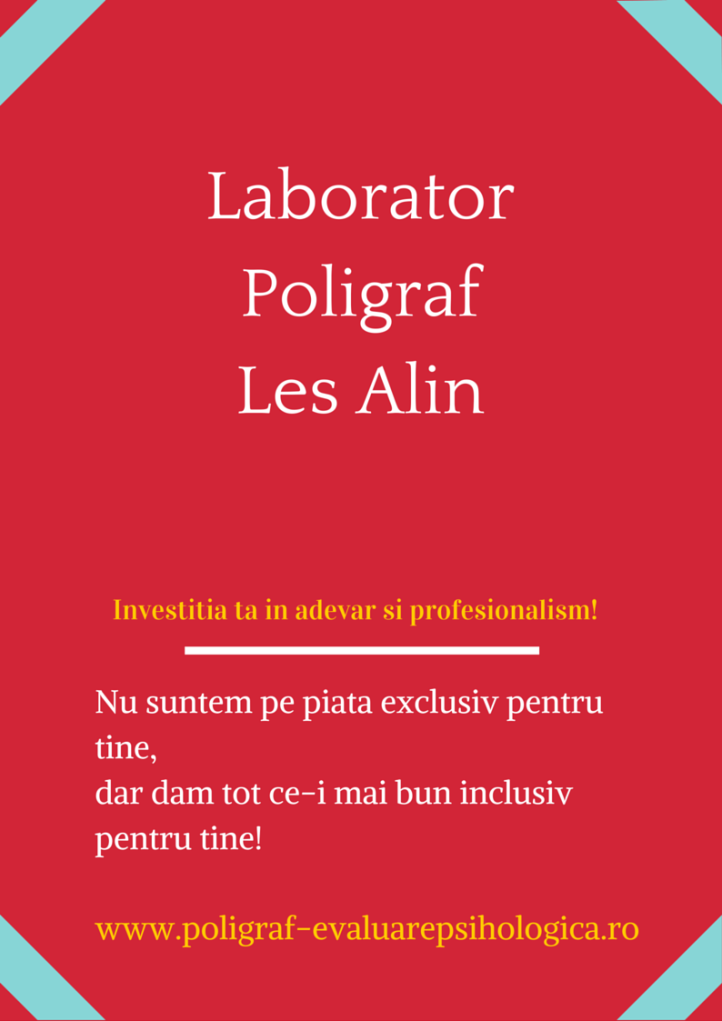Laborator Poligraf Les Alin Sibiu