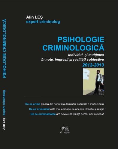 Alin Les - Psihologie criminologica 2014