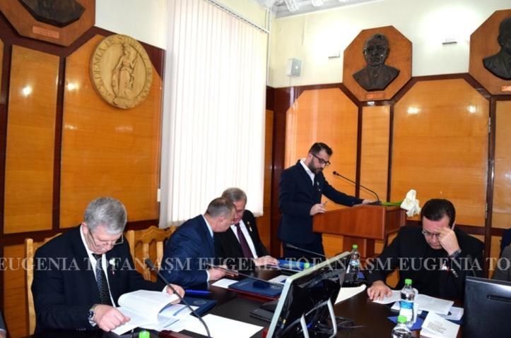 Alin Les, conferinta criminologie, Academia de Stiinte a Moldovei, Chisinau 2018 - 2